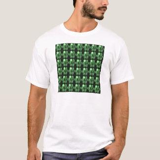 Camiseta Presentes do teste padrão NVN289 do verde