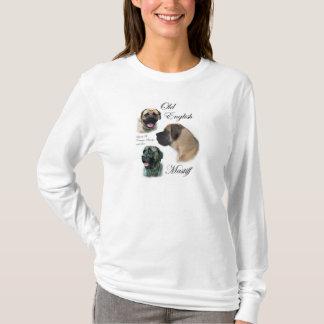 Camiseta Presentes ingleses da arte do Mastiff