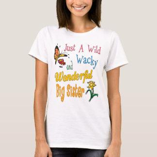 Camiseta Presentes maravilhosos malucos selvagens da irmã
