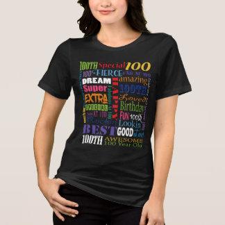 Camiseta Presentes originais e do Special 100th da festa de