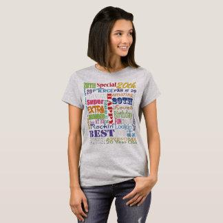 Camiseta Presentes originais e do Special 20os da festa de