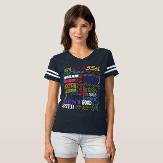 Camiseta Presentes originais e do Special 55th da festa de