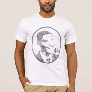 Camiseta Presidente Barack Obama - 44 - cinzas… -