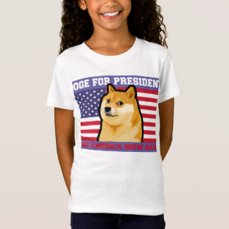 Camiseta Presidente do Doge - doge cão-bonito do