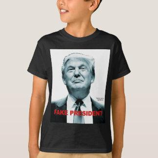 Camiseta Presidente falsificado (trunfo)