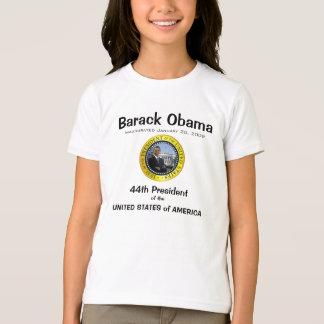Camiseta Presidente Obama - t-shirt da campainha do miúdo