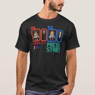 Camiseta Pressione o começo