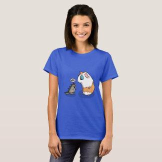 Camiseta Presunto e rugido leitão
