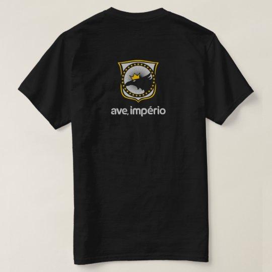 Camiseta preta Ave, Império!