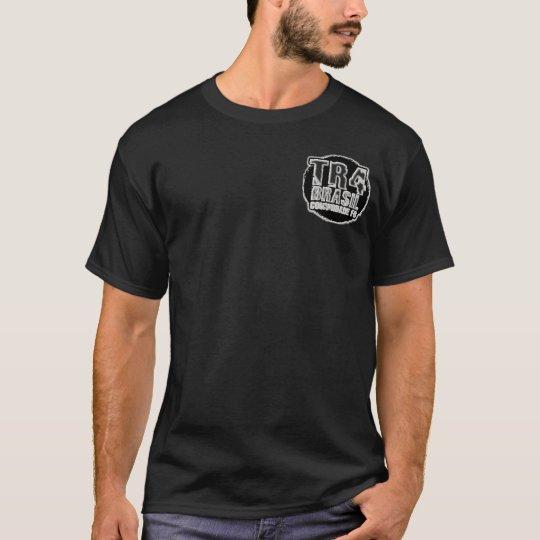 Camiseta preta básica TR4 BRASIL