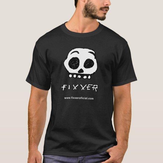 Camiseta preta CAVEIRA FIXXER