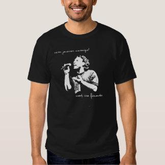 Camiseta Preta Dessambando Vem Janeirar Comigo