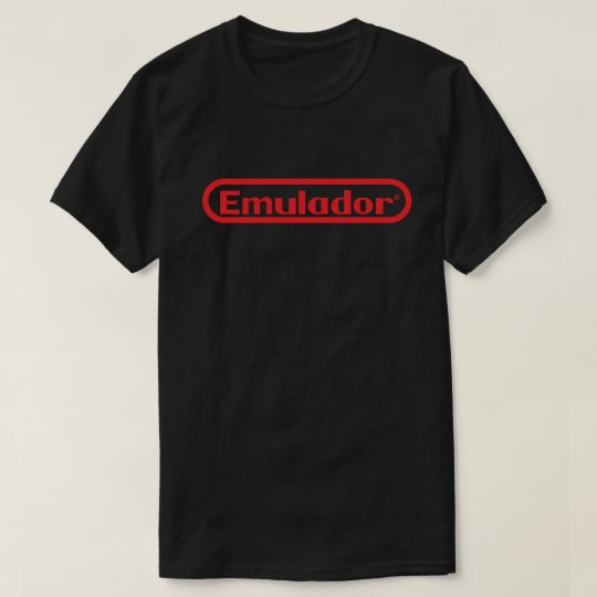 Camiseta Preta Emulador