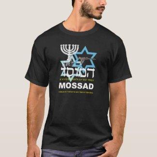 Camiseta Preta faz Mossad