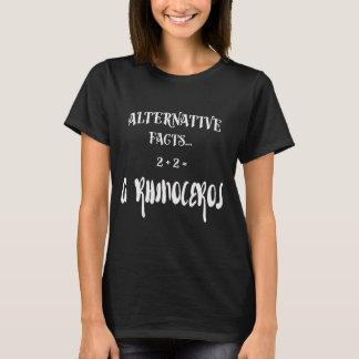 Camiseta Preto alternativo dos fatos