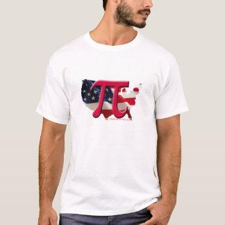 Camiseta preto americano do pi