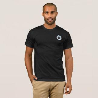 Camiseta Preto básico do t-shirt dos homens dos marismas de