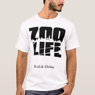Camiseta Preto da arquitectura da cidade de ZooLife