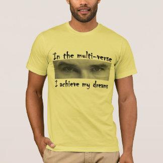 Camiseta Preto de Einstein Multiverse