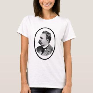 Camiseta Preto de Friedrich Nietzsche o o presente de