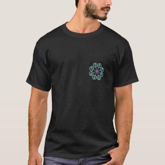 Camiseta Preto de Octo X do zangão de DIY