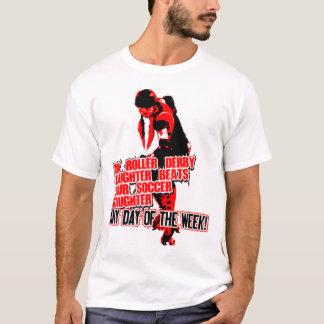 Camiseta Preto de Roler Derby