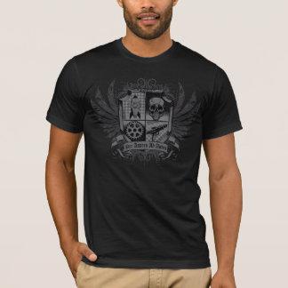 Camiseta Preto de Steampunk - por o anúncio Astra de Aspera