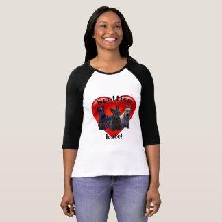 Camiseta Preto de Terrier do Scottish/wheaten, regra,
