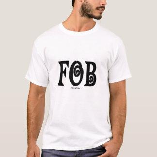 Camiseta Preto do t-shirt do FOB (pai da noiva)