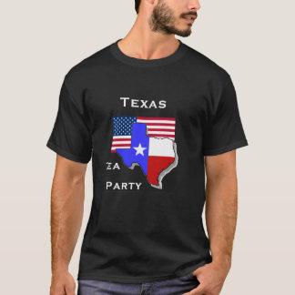 Camiseta Preto do tea party de Texas