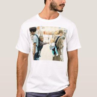 Camiseta preto e branco