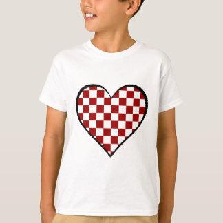Camiseta Preto e branco encontra a versão vermelha 25