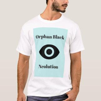 Camiseta Preto órfão