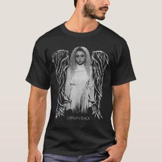 Camiseta Preto órfão | Helena - asas do anjo