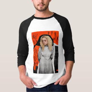 Camiseta Preto órfão | Helena - esboço gótico