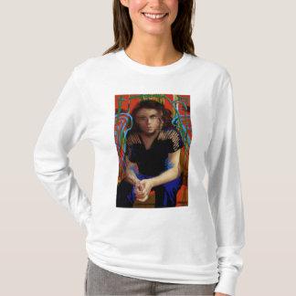Camiseta Preto órfão | Tatiana Maslany - colagem do caráter
