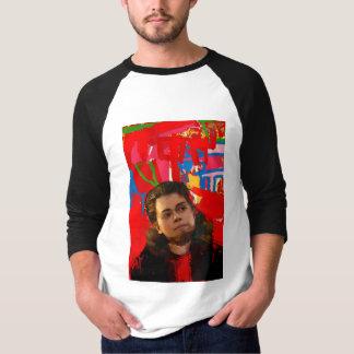 Camiseta Preto órfão   Tony Sawicki - Transgender legal
