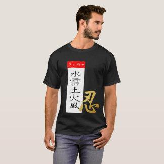 Camiseta Preto secreto das virtudes