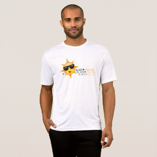 Camiseta Preto + T-shirt amarelo do design