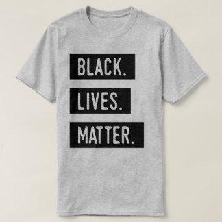 Camiseta Preto. Vidas. Matéria. T-shirt