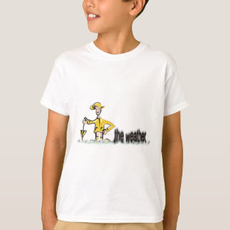 Camiseta Previsão de tempo no vestuário impermeável
