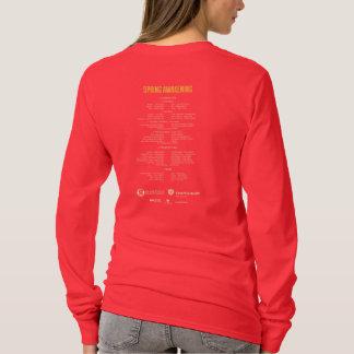 Camiseta Primavera do RTC das mulheres que desperta