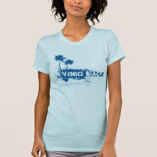Camiseta Primavera na praia de Veneza