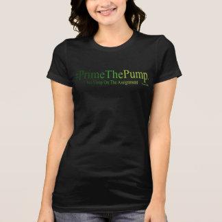 Camiseta #Prime a bomba - nenhum sono na atribuição (TM)