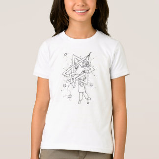 Camiseta Primeira noite do presente de Chaukah: Colora seu