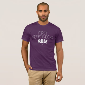 Camiseta Primeira regra dos que respondes - branco