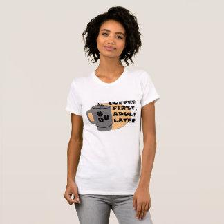 Camiseta Primeiro café