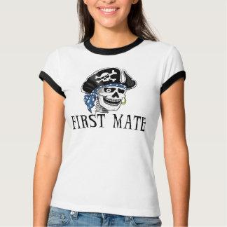 Camiseta Primeiro companheiro do pirata com um só olho