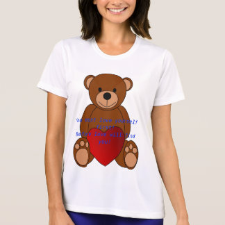 Camiseta Primeiro T do amor você mesmo
