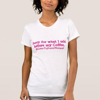 Camiseta Primeiro T do café